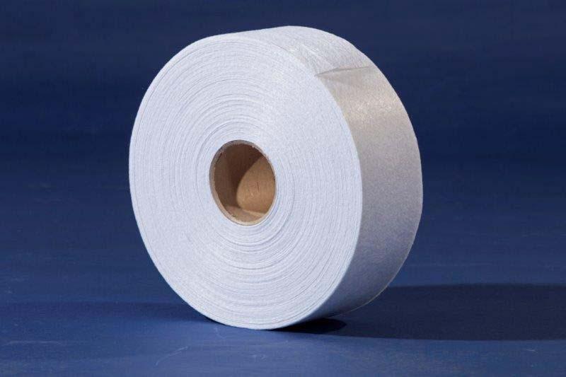 Manta filtrante em fibra sintética